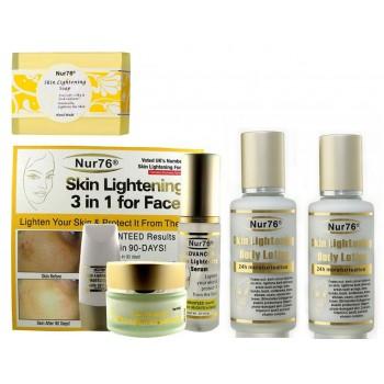 Nur76 Skin Lightening Advanced Plus Package-A