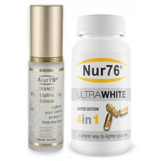 Nur76 Advanced Serum with Ultra Whitening Tablets