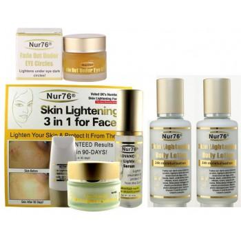 Nur76 Advanced Skin Lightening Ultimate Package