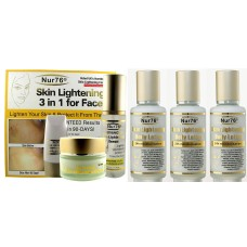 Nur76 Advanced Skin Lightening Ultimate Package-A