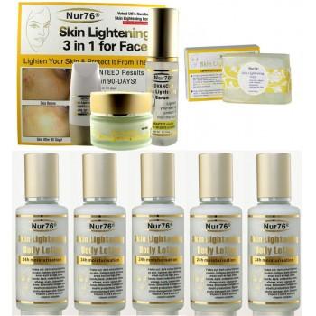 Nur76 Advanced Skin Lightening Ultimate Package-B