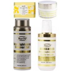 Nur76 Skin Lightening Ultimate Wash Package