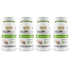 4 x Nur76 SalonSlim - Weight Loss Pills