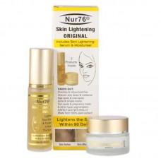2 x Nur76 Skin Lightening ORIGINAL Serum and Cream