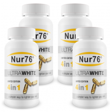 4x Nur76 Skin Lightening Tablets - Special Offer