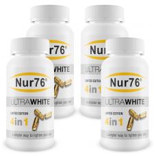 4x Nur76 Skin Lightening Tablets - Special Offer